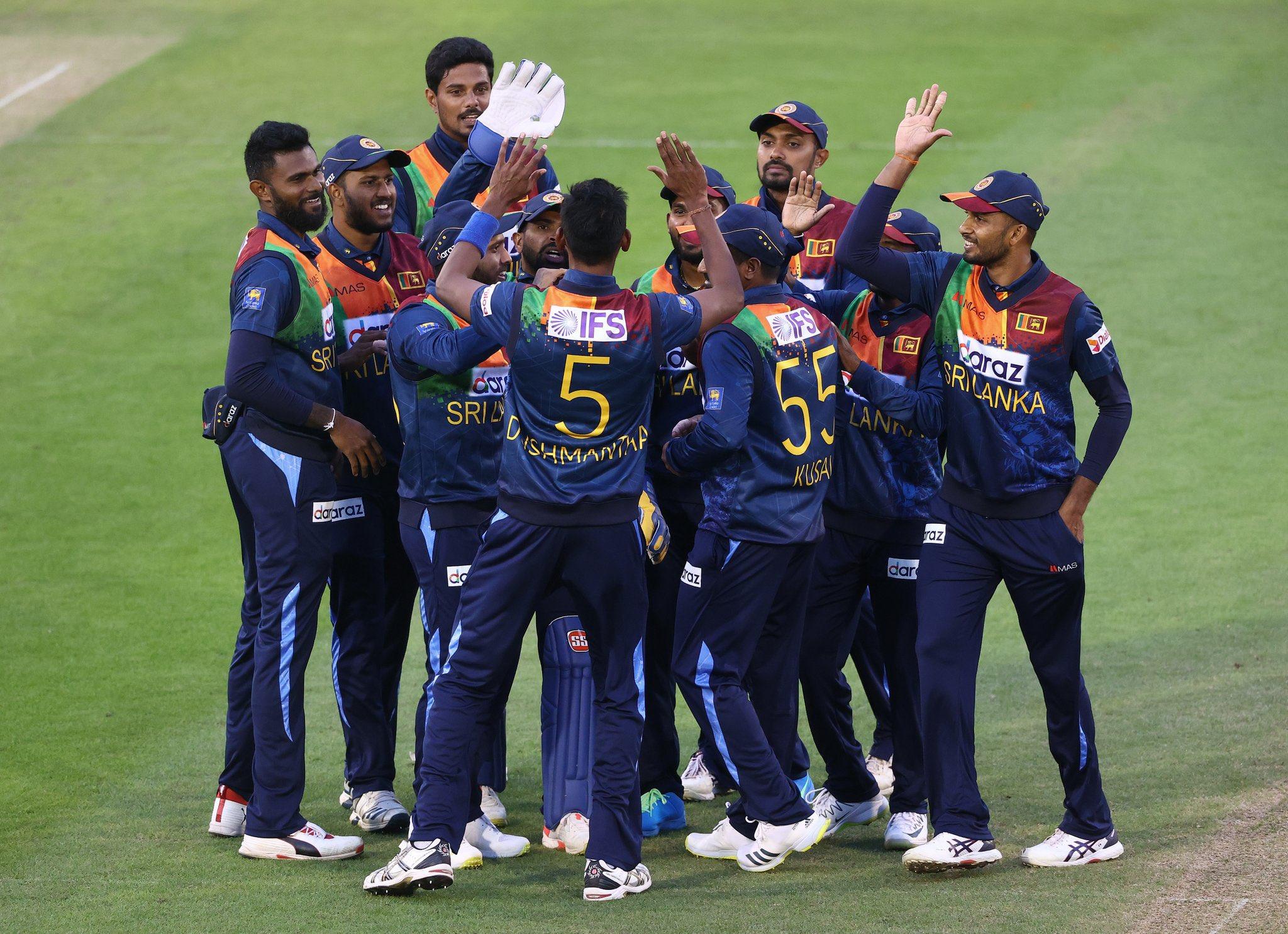 5th consecutive T20I series loss for Sri Lanka