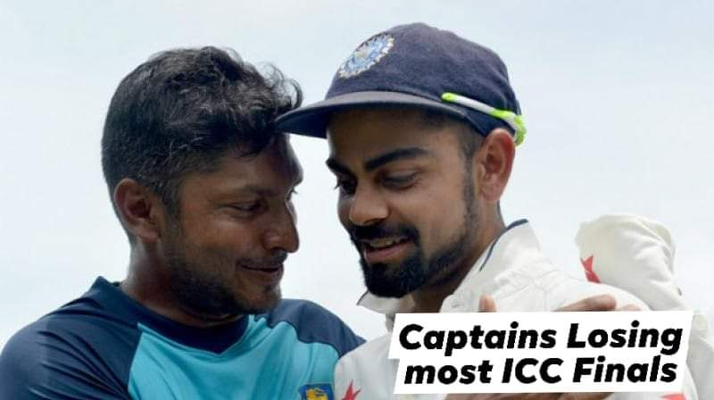 Virat Kohli becomes the 6th captain to lose 2 ICC finals