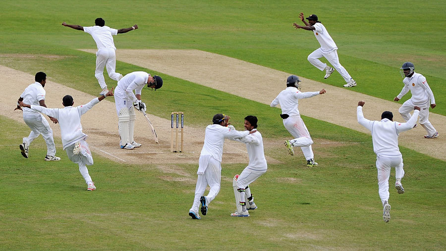 Watch: On this day SL snatch victory in the last over of a Test to win a series against England in 2014