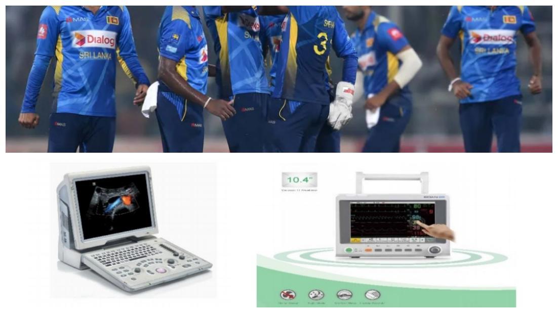 Sri Lankan Cricketers pledge to donate Covid-19 equipment