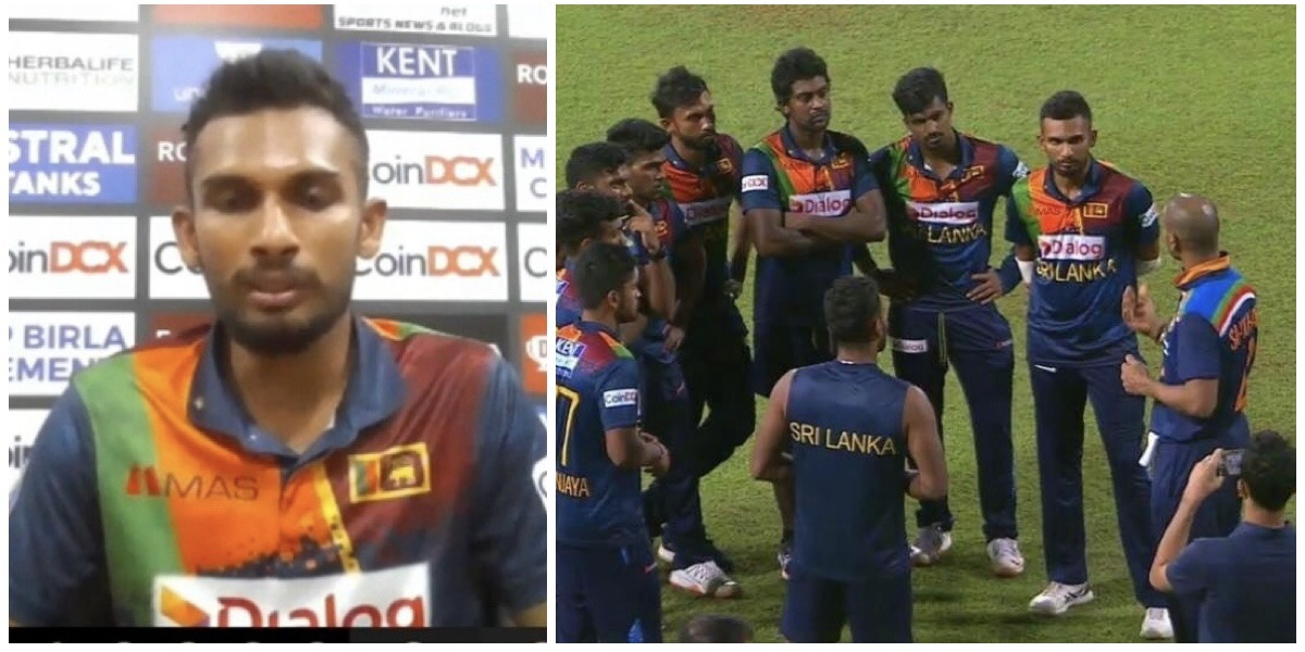 Watch: Dasun reveals details on the conversation between Indian Captain Dhawan and SL team
