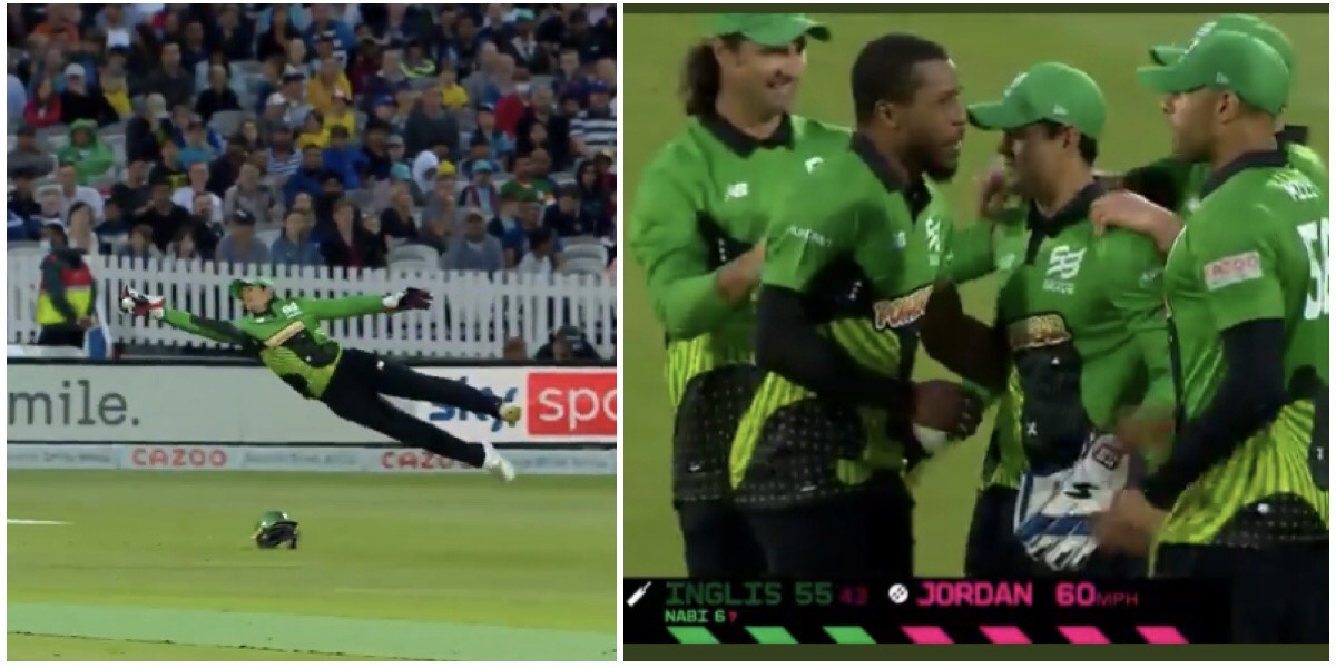 Watch: Stunning catch by Quinton de Cock in the Hundred Championship