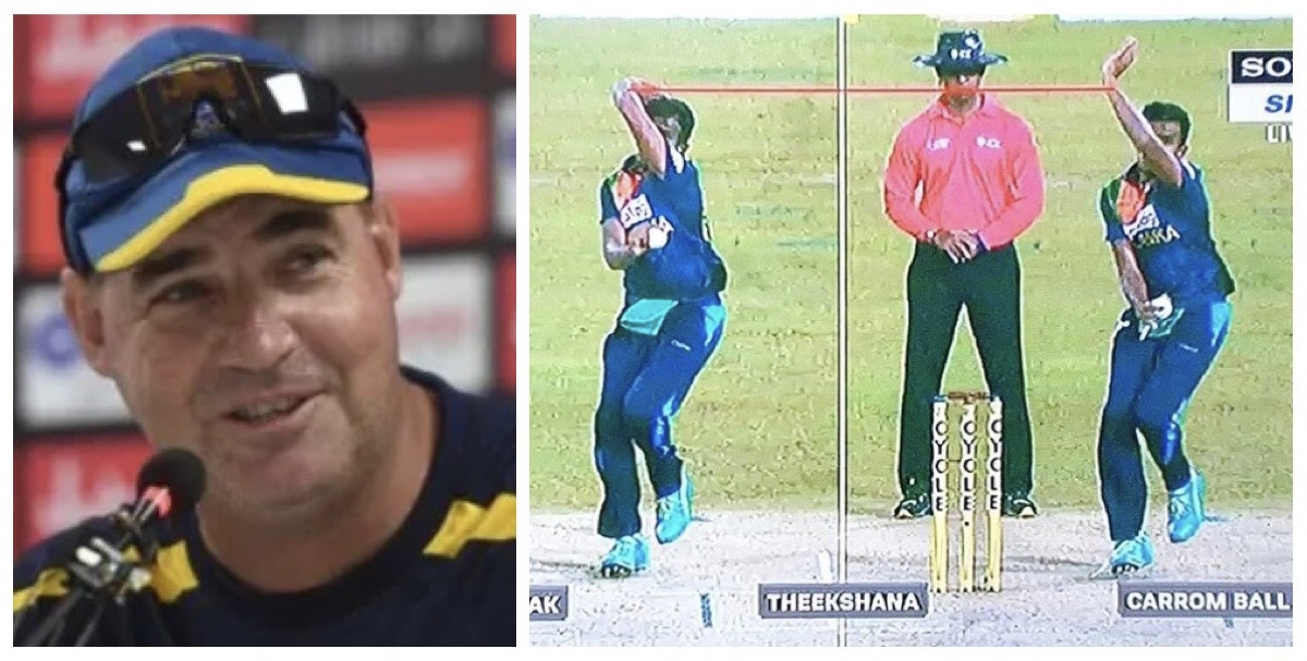 Experts analyses Maheesh Theekshana's action, Mikey Arthur sees the funny side of it