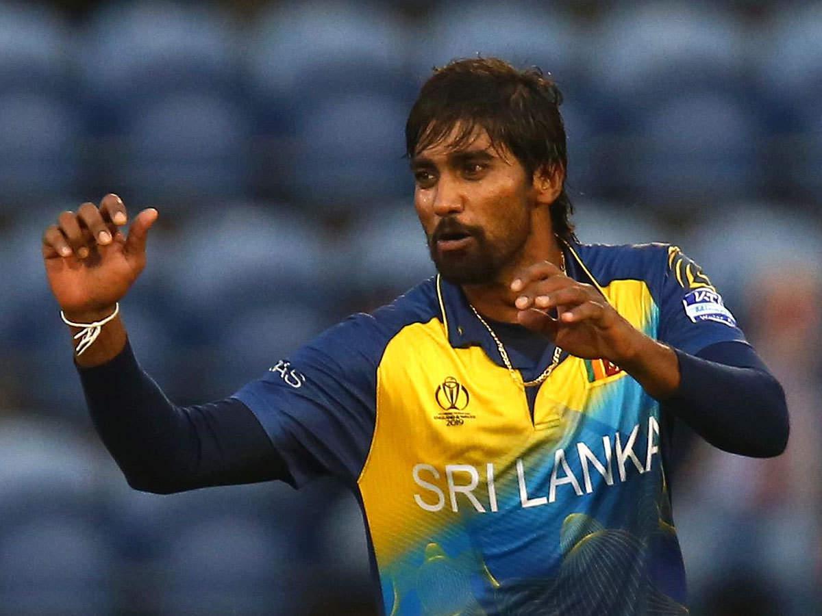 Sri Lanka announces replacement for injured Nuwan Pradeep